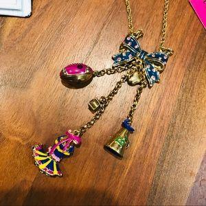 NWT Betsy Johnson Cheerleading Necklace